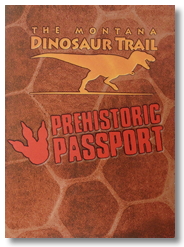 Montana Dino Trail Prehistoric Passport Cover