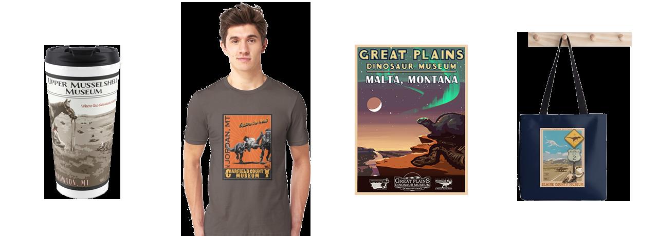 Montana Dino Trail Store
